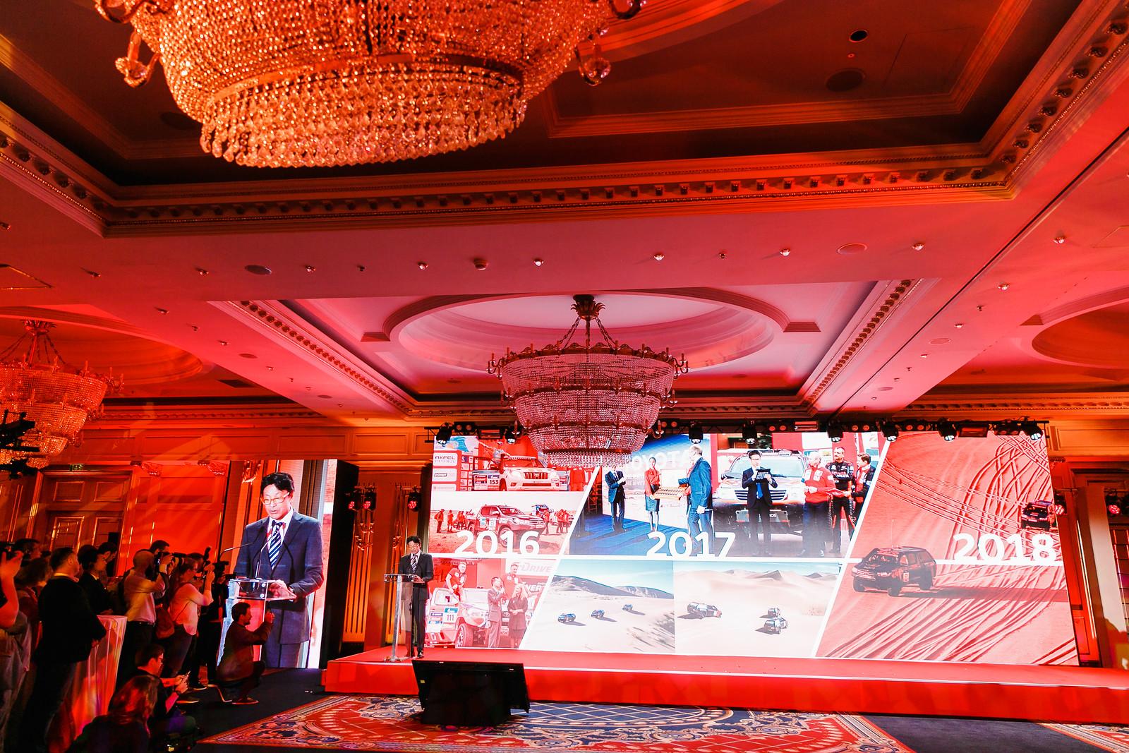 Презентация Международного ралли «Шелковый путь» 2018 в Москве