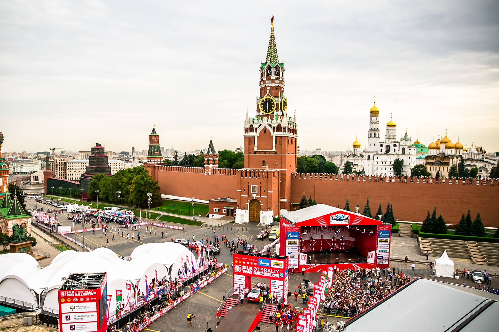 Silk Way Rally 2018 Finish Ceremony in Moscow